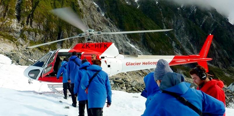 Franz Josep Glacier-Nuova Zelanda